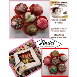Northwest Fudge Factory Cocoa Bombs (Box of 6)