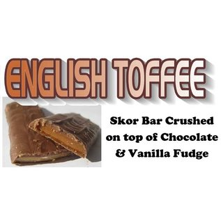 Northwest Fudge Factory English Toffee Fudge