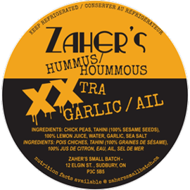 Zaher's Small Batch D/C Zaher's Small Batch- XXTra Garlic