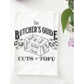 The Coin Laundry Kitchen Towel- Butcher's Guide