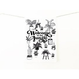 The Coin Laundry Kitchen Towel- Welcome To The Jungle