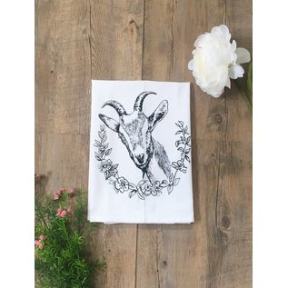 The Coin Laundry Kitchen Towel- Goat