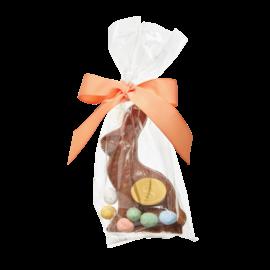 Saxon Chocolates Saxon Milk Chocolate Bunny with Chocolate Eggs