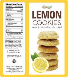 TooGood Gourmet TGG Keto Cookies-Lemon
