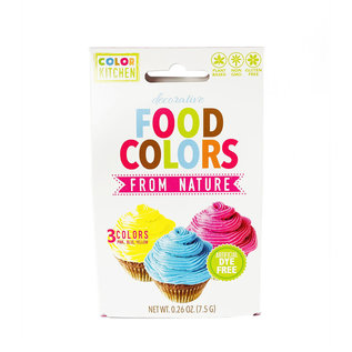 Color Kitchen Color Kitchen Food Colors from Nature-3pack