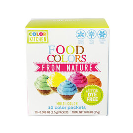 Color Kitchen Color Kitchen Food Colors from Nature- 10 Pack