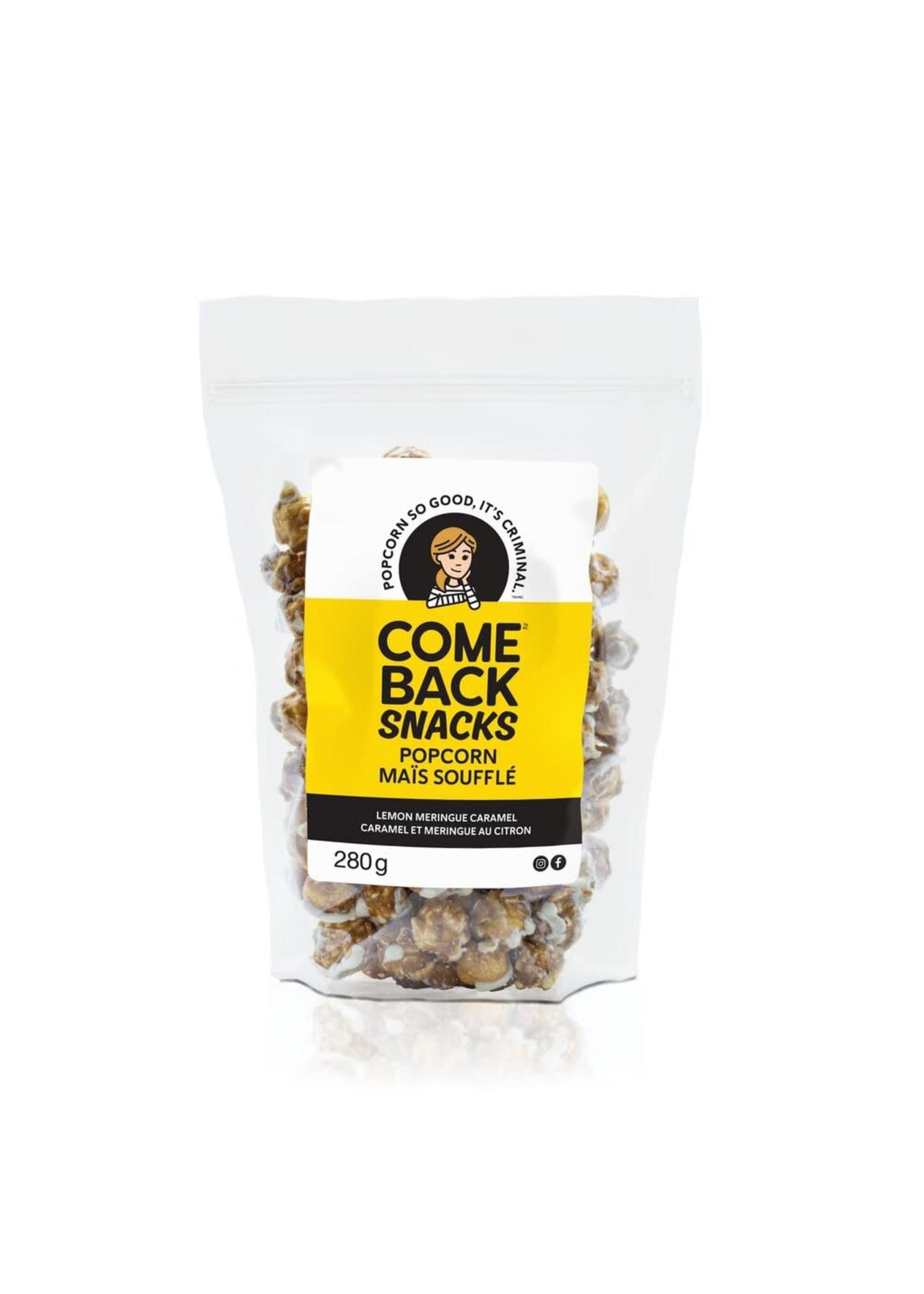 Comeback Snacks Inc C.S Lemon Meringue Caramel