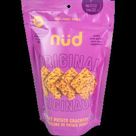 Nud Nud Organic Raw Sweet Potato Cracker- Original