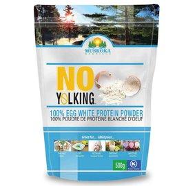 Muskoka Mornings No Yolking- Egg White Protein Powder