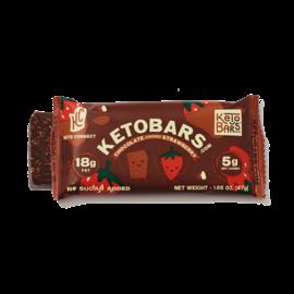 Ketobars.com Ketobars.com- Chocolate CoveredStraberry (Single)