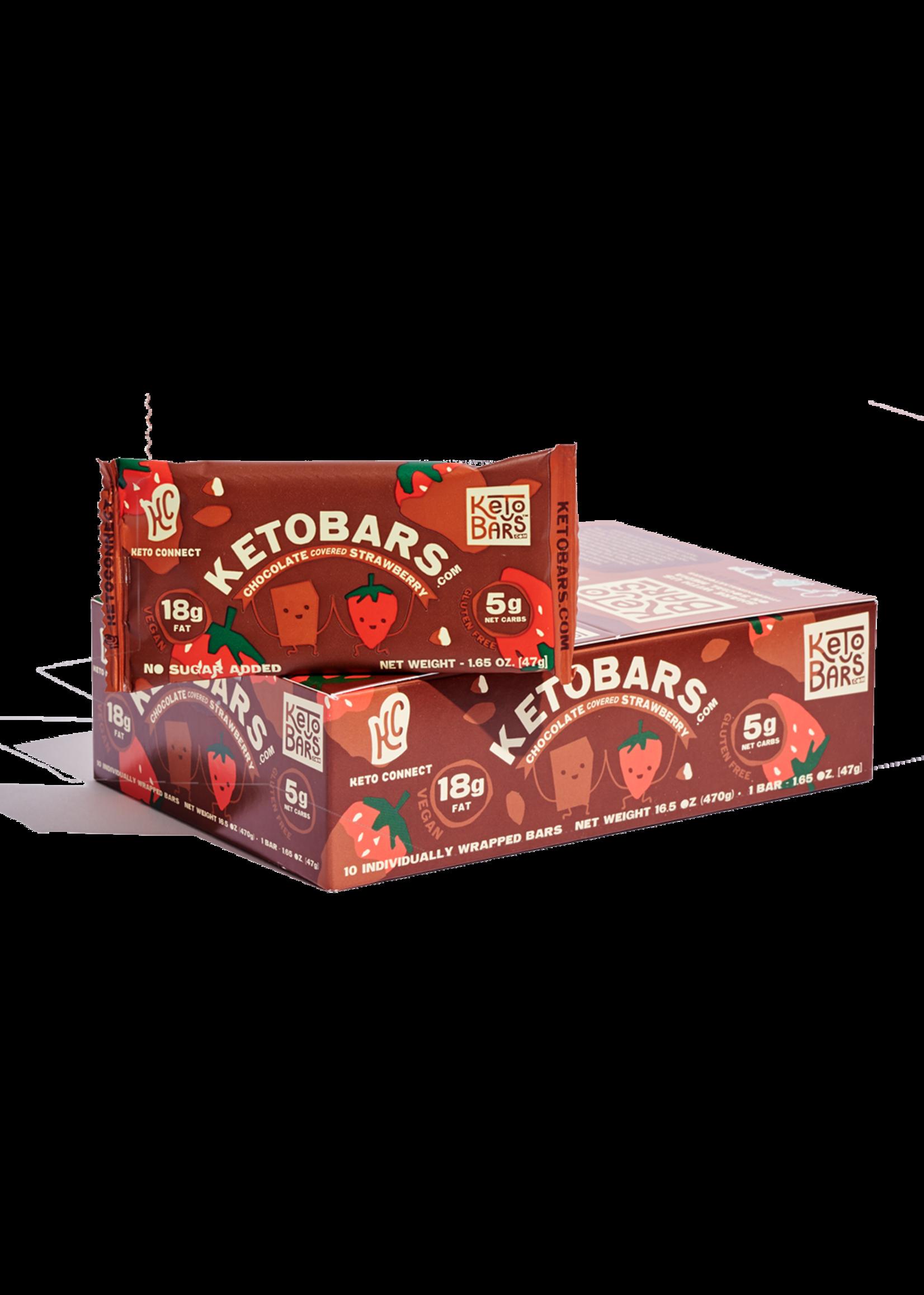 Ketobars.com Ketobars.com- Chocolate Covered Strawberry (10PK)