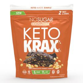 NoSugar NO SUGAR- Keto Krax- Dark Cho. Peanut Butter