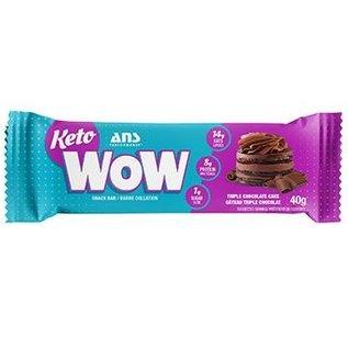 ANS Performance ANS Wow Keto Bars Triple Choc Cake(Singles)
