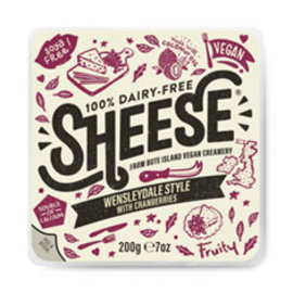 Sheese Sheese Wensleydale style with cranberries
