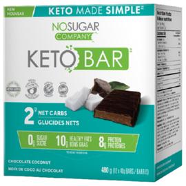 Keto Made Simple Keto Bar Chocolate Coconut