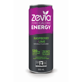 zevia Zevia Raspberry/Lime Energy Drink in Cans