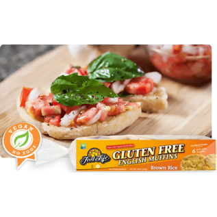 Food for Life Brown Rice English Muffins Gluten Free
