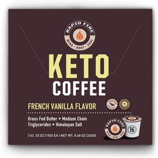 Rapid Fire Coffee Pods- French Vanilla
