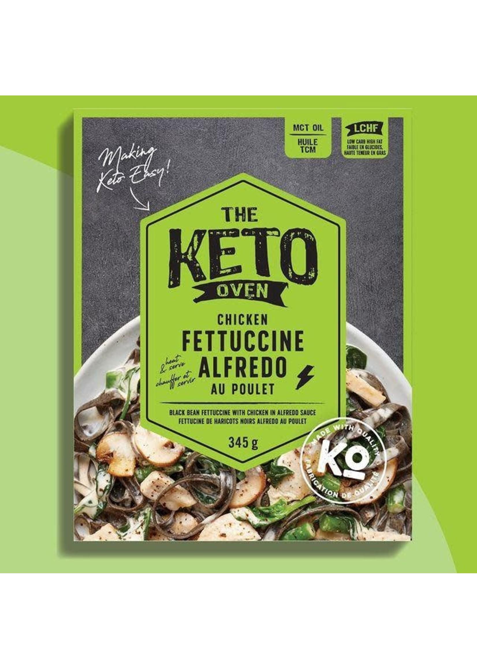 The Keto Kitchen The Keto Oven- Chicken Fettuccine Alfredo