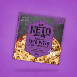 The Keto Kitchen The Keto Oven-  Mushroom Keto Pizza