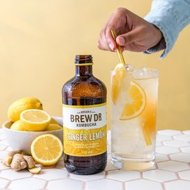 BREW DR. KOMBUCHA BREW DR. KOMBUCHA- Lemon Ginger Cayenne