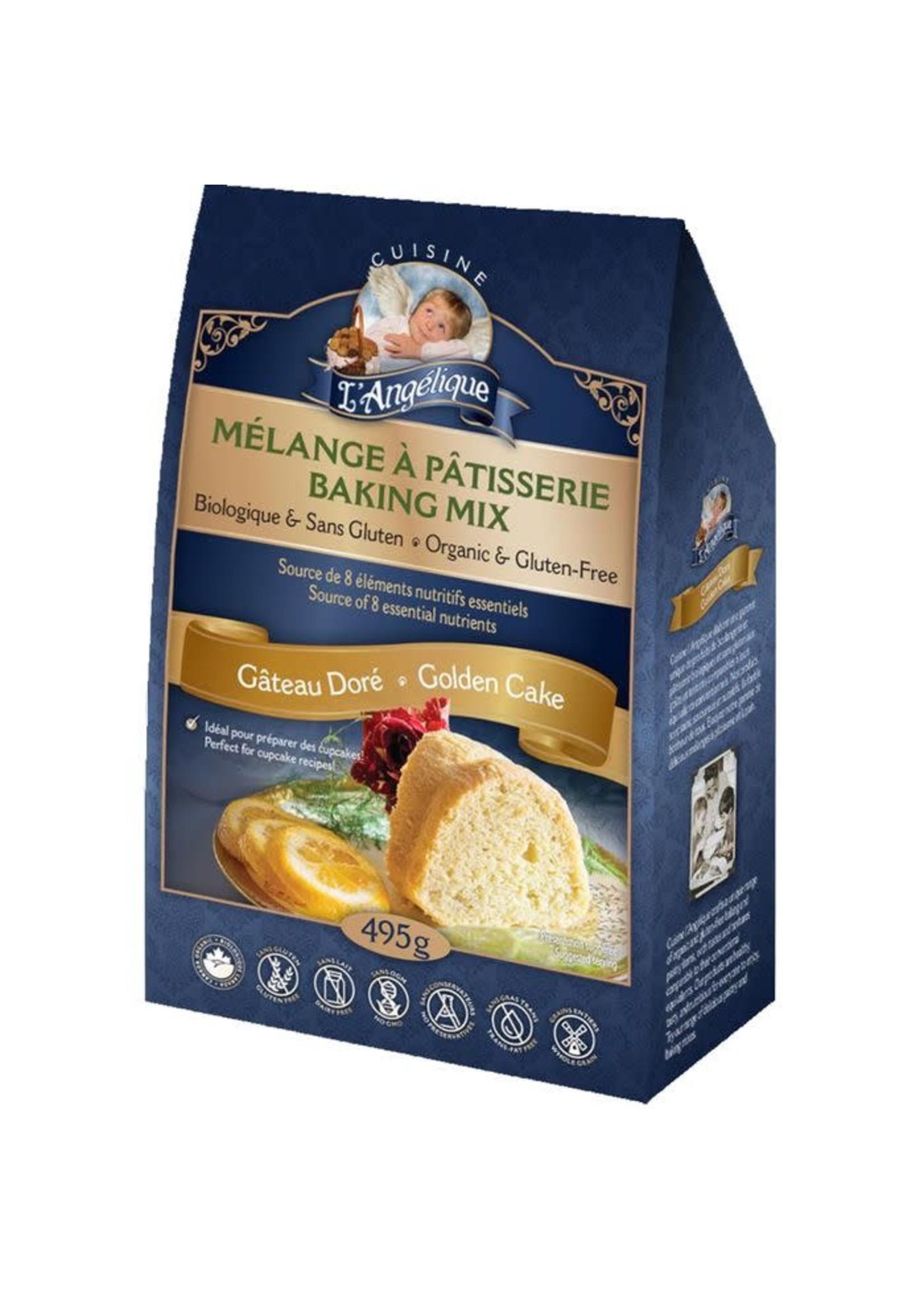 Cuisine L'Angelique Cuisine L'Angelique Gluten-Free & Organic- Golden Cake Mix