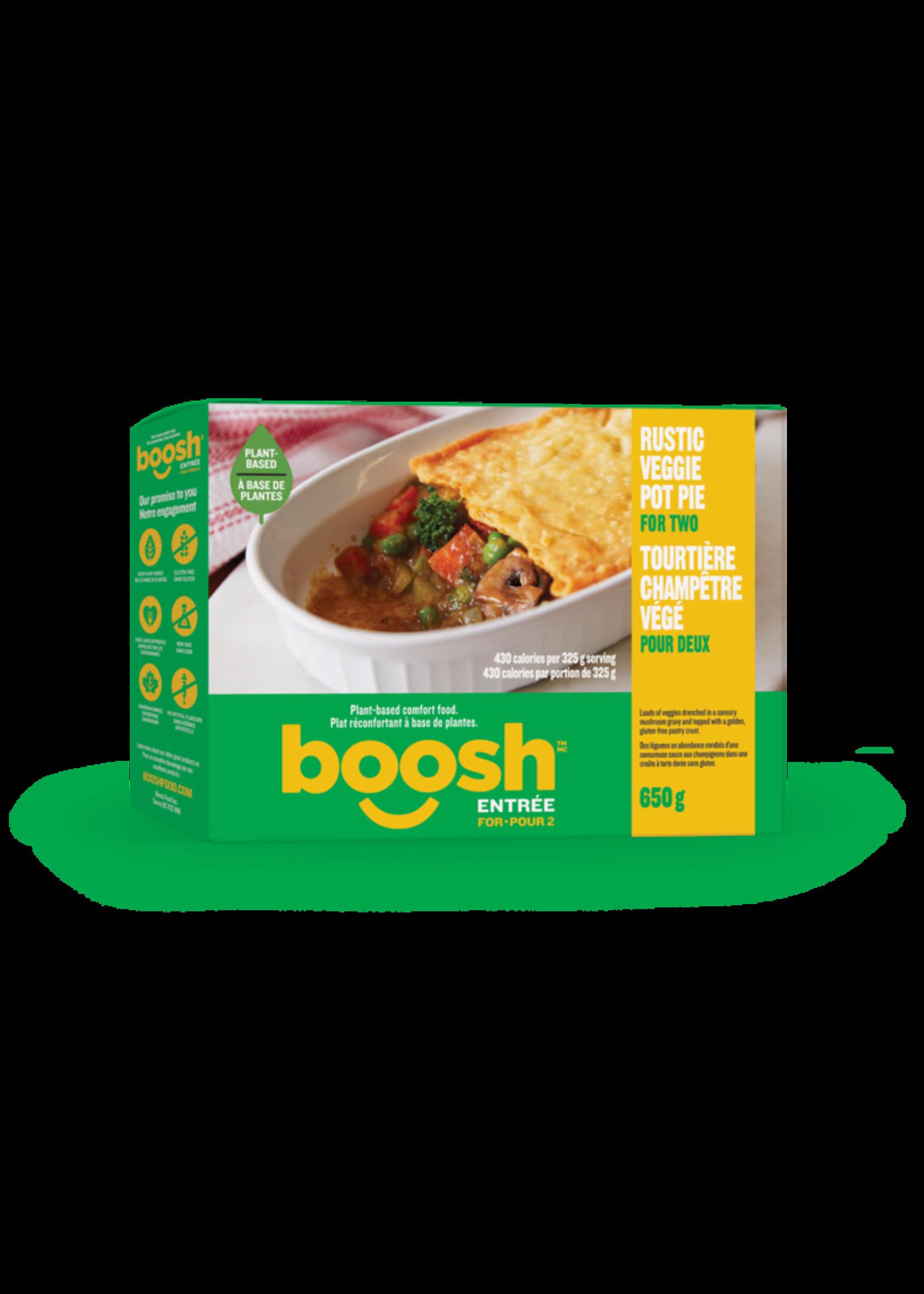 Boosh BOOSH- Rustic Veg Pot Pie