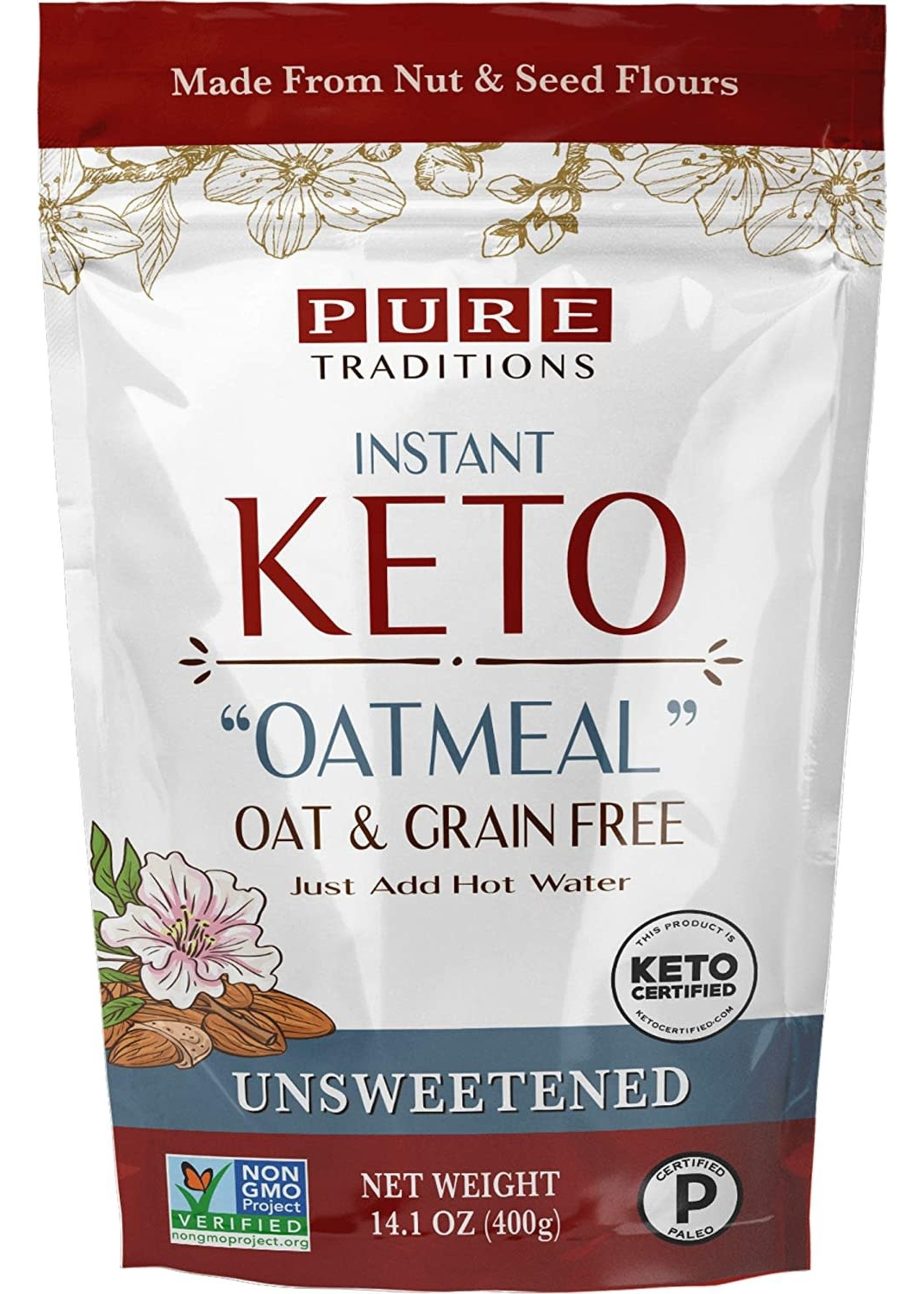 Pure Traditions Pure Traditions- Keto Oatmeal