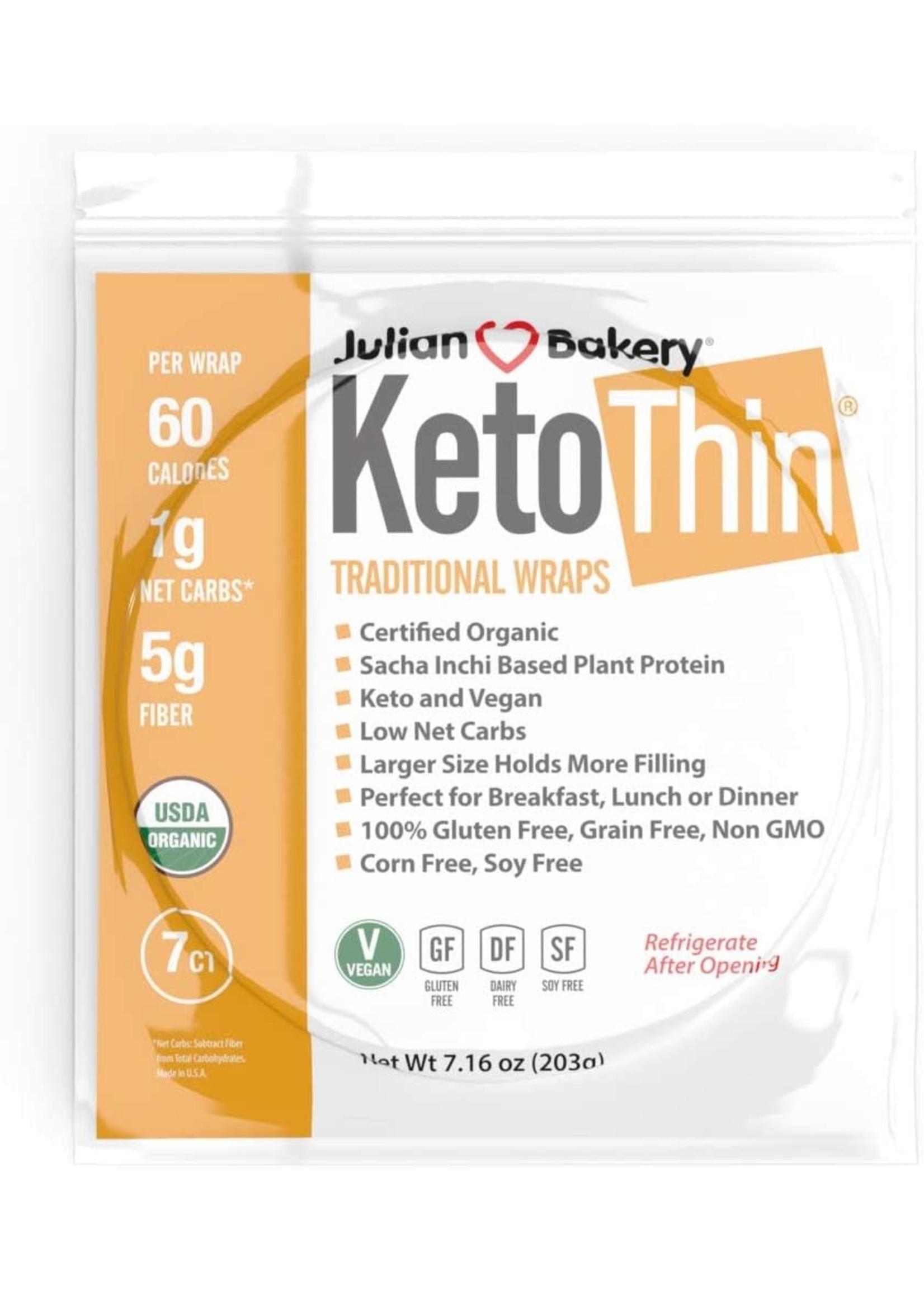 Julian Bakery Julian Bakery Keto Thin Wraps 7PK