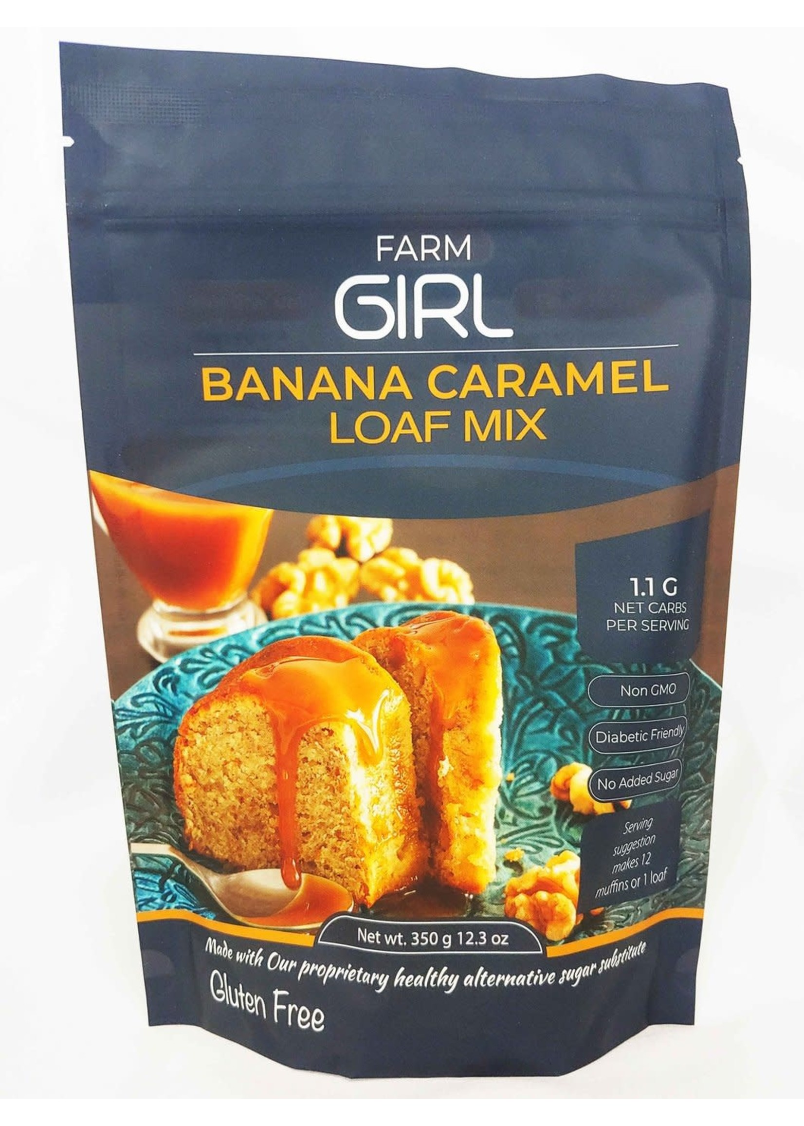 Farm Girl Farm Girl Keto Banana Caramel Loaf Mix