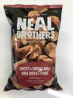 Neal Brothers Sweet & Smooky BBQ  Kettle Chips 142G