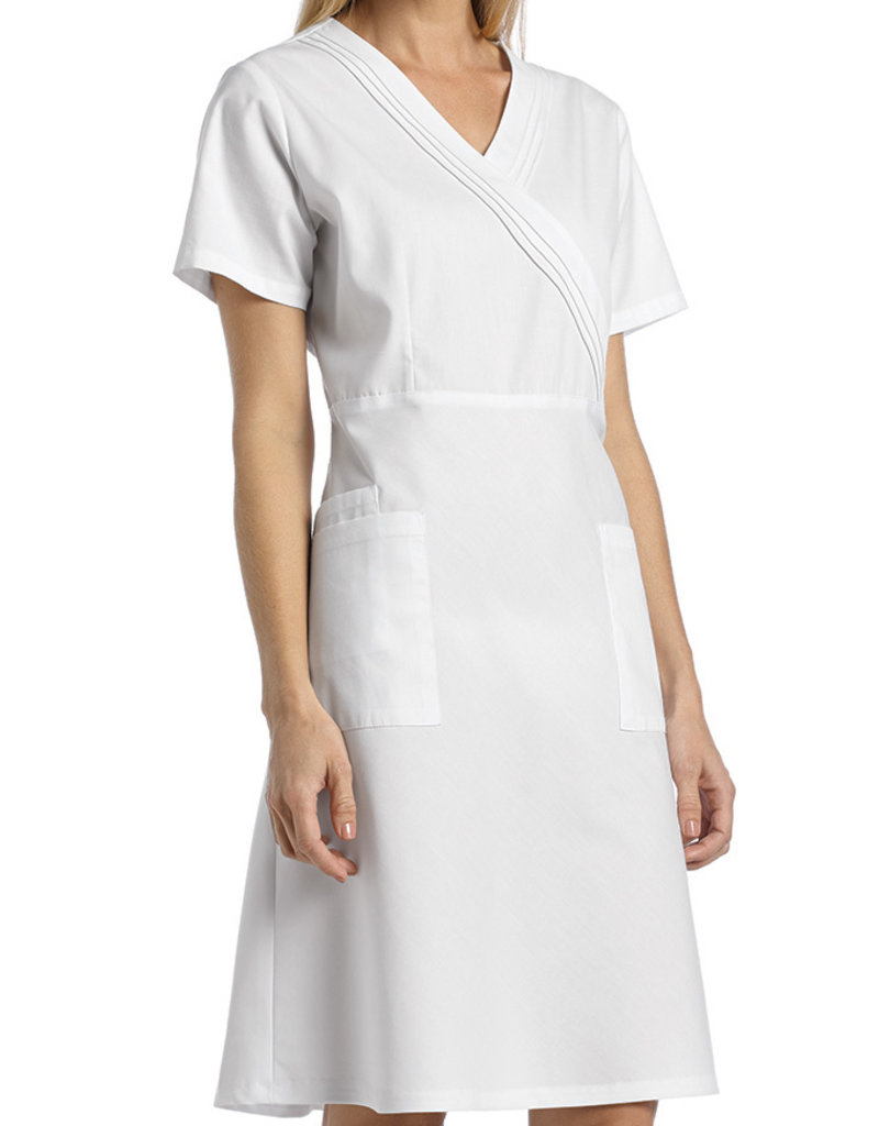 White Cross 8014 White Cross Cotton Scrub Dress