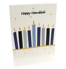 Salay Handmade Paper Industries Inc. Happy Hanukkah Holiday Card