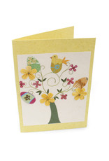 Salay Handmade Paper Industries Inc. Nesting Chick Easter Card
