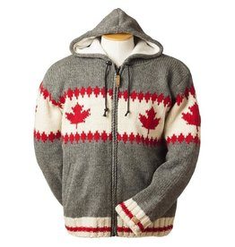 ARK Imports Maple Zigzag Cardigan (L)