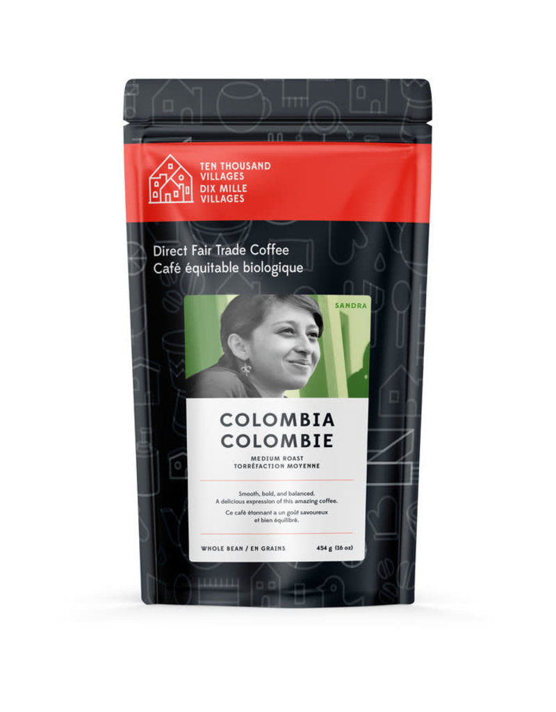 Level Ground Coffee Colombian Medium Roast (Beans)