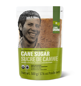 Level Ground Organic Unrefined Cane Sugar 2kg