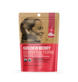 Level Ground Premium Organic Dried Golden Berry