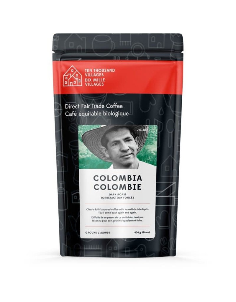 Level Ground Coffee Colombian Dark Roast (Beans)