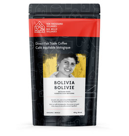 Level Ground Bolivian Medium Roast Coffee (Ground)