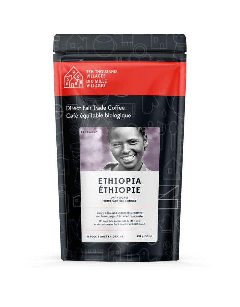 Level Ground Coffee Ethiopian Dark Roast (Ground)