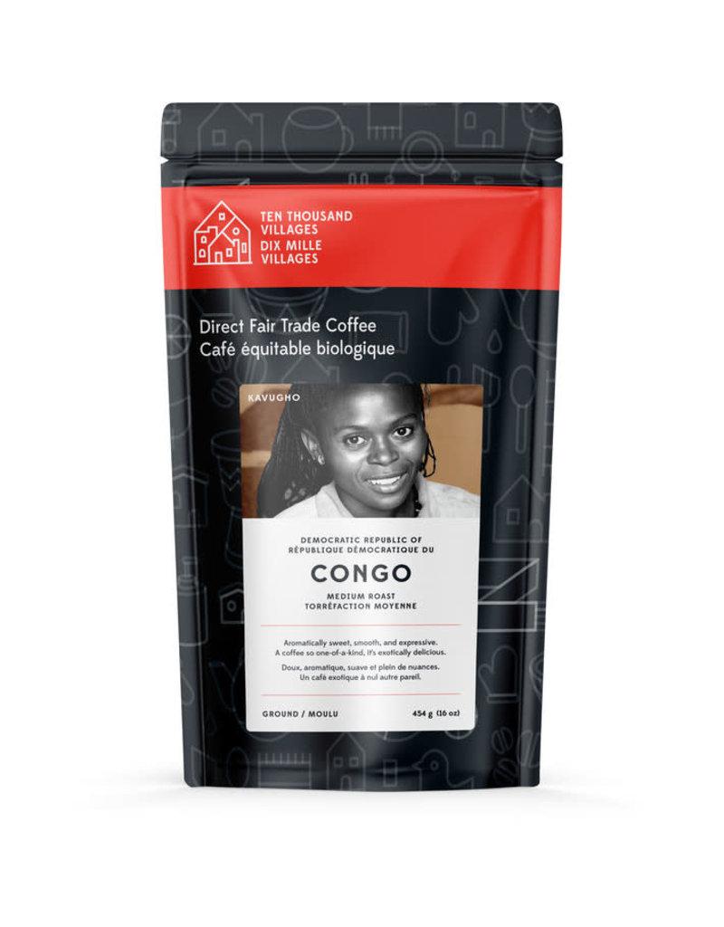 Level Ground Coffee Congo Medium Roast (Ground)