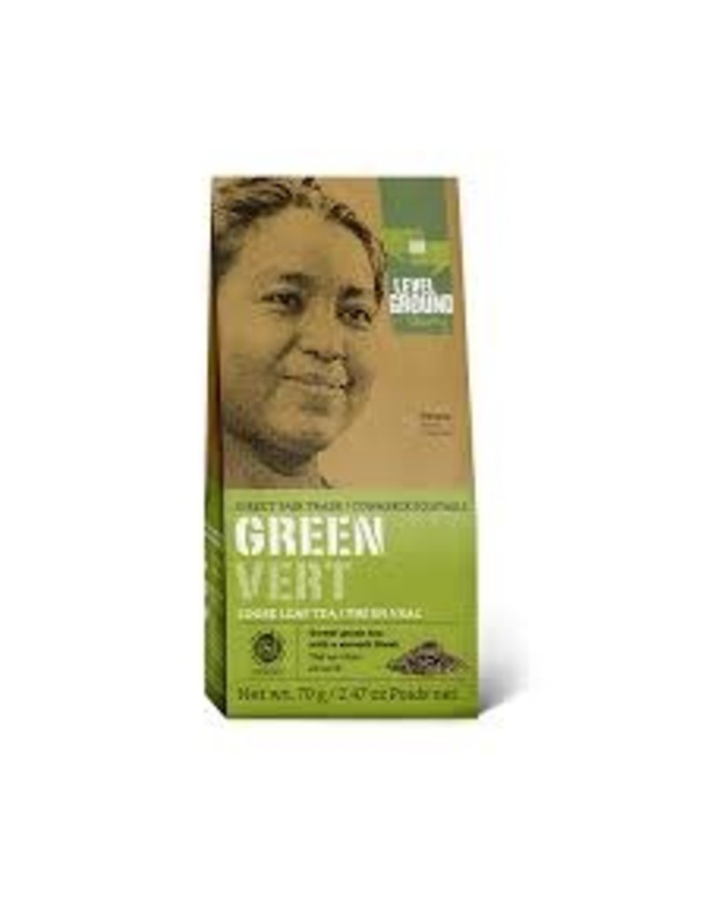 Level Ground Green Tea Loose Leaf