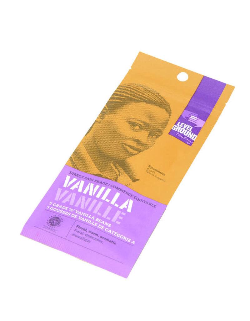 Tribal Vanilla Vanilla Beans Package 5 Whole Beans