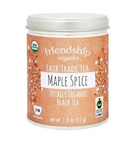 Friendship Tea Friendship Organic Maple Spice Black Tea