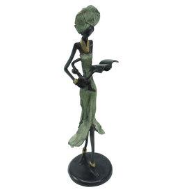 Atelier de Formation et de Promotion des Artisans Reading Woman Sculpture