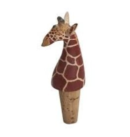 Otic International Corky Giraffe Bottle Topper