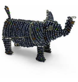 Otic International Beaded Elephant Sculpture (small)