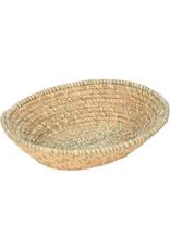 Uganda Crafts 2000 Ltd. Sage Spiral Raffia Basket