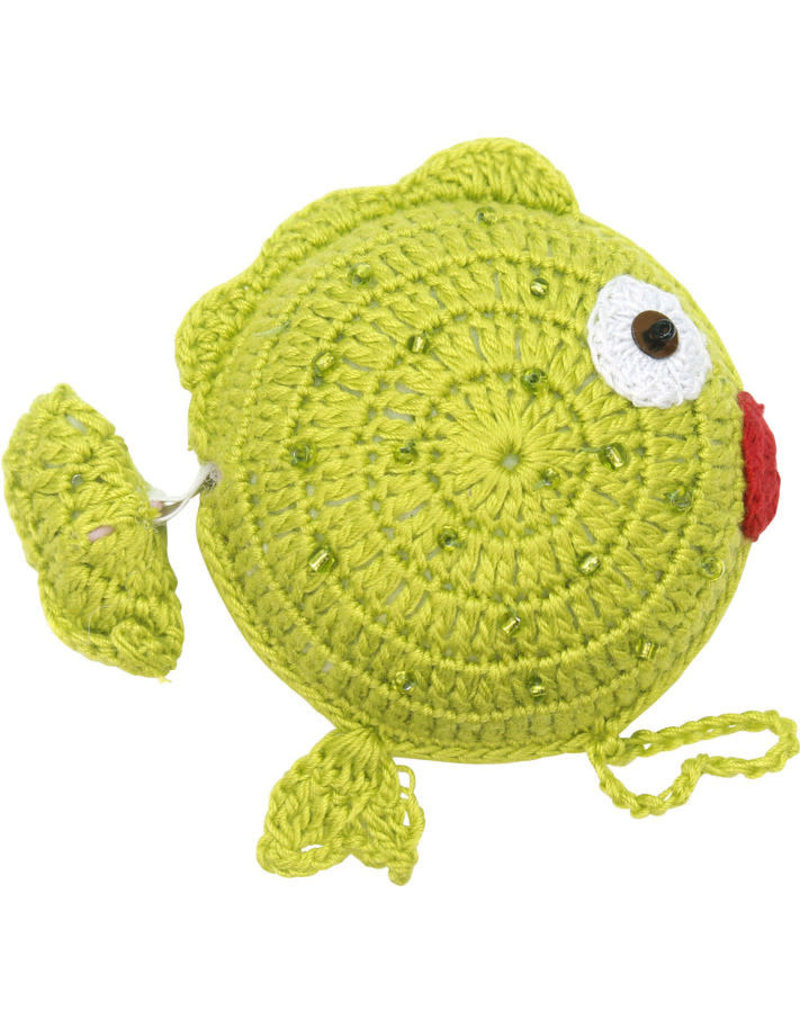 Craft Link Crocheted Fishy Measuring Tape